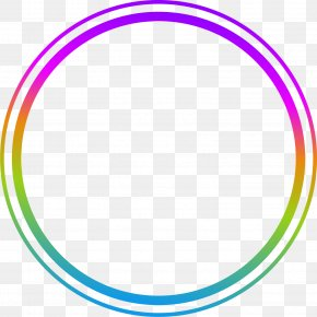 Hand Painted Colorful Circle Ring PNG