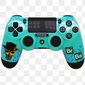 Breaking Bad - PlayStation 4 Pro PlayStation 3 Game Controllers DualShock PNG