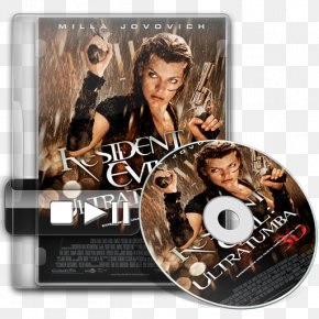 Milla Jovovich - Resident Evil 4 Film Poster Film Poster PNG