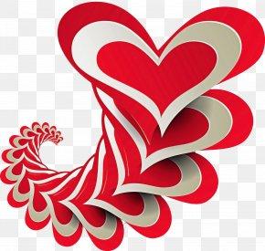 Love Heart - Heart Love Font Heart PNG