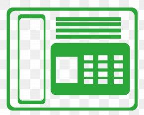 Green Phone - Telephony Telephone Green Handset PNG