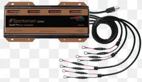 Battery Charger - Battery Charger Deep-cycle Battery Electric Battery Volt Lithium-ion Battery PNG