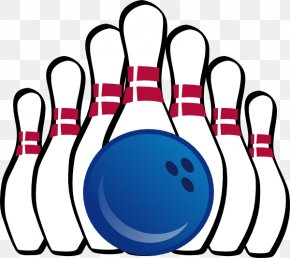 Summer Bowling Cliparts - Bowling Pin Ten-pin Bowling Bowling Ball Clip Art PNG
