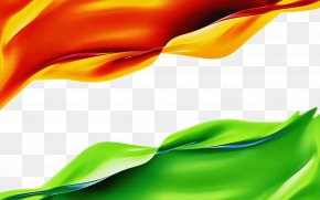 Petal Plant - India Independence Day National Flag PNG