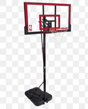 Basketball - Backboard Spalding Basketball Breakaway Rim Canestro PNG