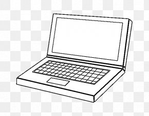 Computer Page - Laptop Colouring Pages Coloring Book Computer PNG
