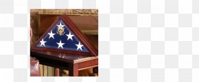 Display Box - United States Shadow Box Display Case Military Funeral Flag PNG