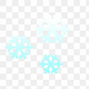 Snowflakes - Blue Aqua Turquoise Azure Teal PNG