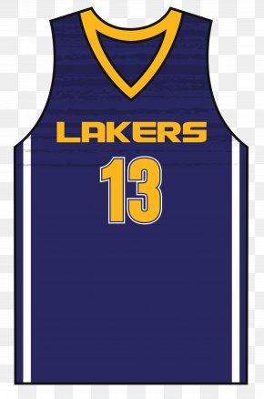Basketball Uniform - Los Angeles Lakers T-shirt Basketball Uniform Jersey PNG