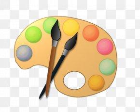 Paint Palette Cliparts - Palette Painting Artist Clip Art PNG