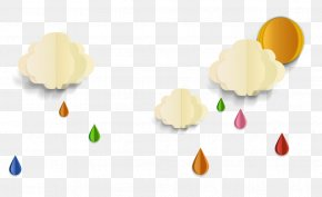 Rain Cartoon Material Picture - Rain Weather Forecasting PNG