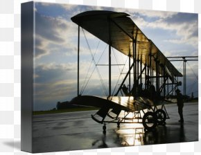 Landscaping Flyer - Dayton Wright B Flyer Inc. Gallery Wrap Canvas Art PNG