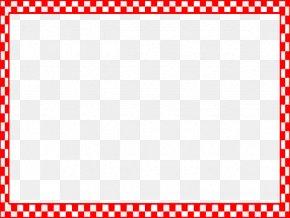 BBQ Border Cliparts - Draughts Checkerboard Clip Art PNG