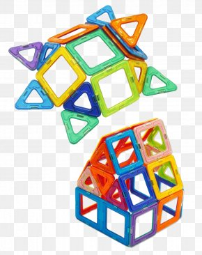 Toys Magnet Film Decorative Material - Toy Block Magnetism Jigsaw Puzzle PNG