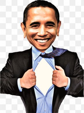Caricature Cliparts - Barack Obama President Of The United States Clip Art PNG