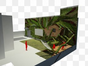 House Garden Green Wall Tree PNG