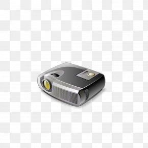 Projector - Macintosh Video Projector Document Camera Icon PNG