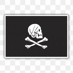Flag - Jolly Roger Golden Age Of Piracy Flag Symbol PNG