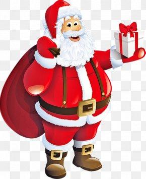 Santa Claus - Pxe8re Noxebl Santa Claus Christmas Gift Clip Art PNG