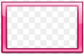 Pink Rectangle Cliparts - Board Game Pink Chessboard Area Pattern PNG
