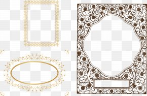 Vector Border - Book Cover Template The Black Wedding Dress Book Design PNG