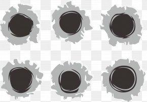 Bullet Holes Vector - Bullet Cartridge Download PNG