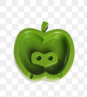 Apple's Plastic Ashtray - Plastic Ashtray Apple PNG