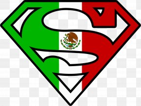 Mexican Logo Cliparts - Superman Logo Sticker Clip Art PNG