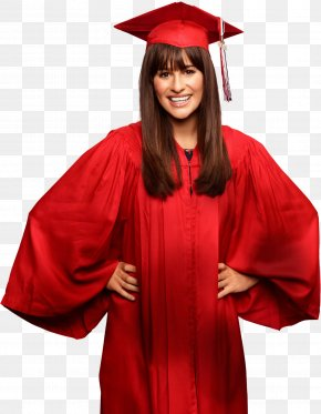 Student - Lea Michele Rachel Berry Glee This Time PNG