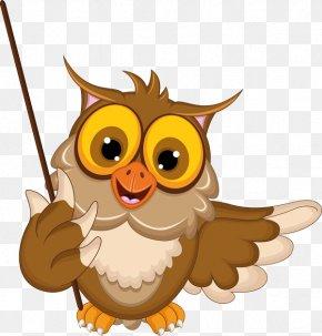 GRADUATION BORDER - Owl Cartoon Clip Art PNG