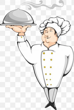 Chef - Pizza Chef Cooking Cartoon PNG