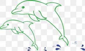 Dolphin Vector Material - Euclidean Vector Wave Vector Clip Art PNG