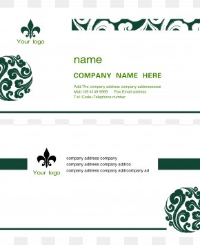 Business Card Template - Paper Business Card Printing Visiting Card PNG