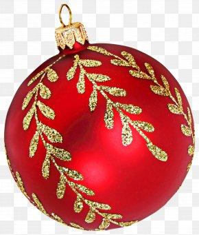 Christmas - Christmas Ornament Ball New Year Clip Art PNG