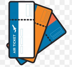 Vector Travel Ticket Free Downloads - Air Travel Airplane Flight Airline Ticket Boarding Pass PNG
