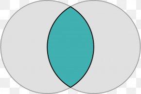 Circle Shape Cliparts - Vesica Piscis Shape Circle Disk Clip Art PNG