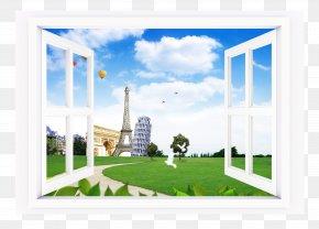 Couple Window - Window Landscape PNG