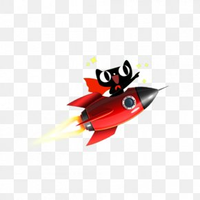 Lynx Sitting On A Rocket - Rocket Gratis Clip Art PNG