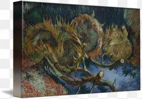 Vincent Van Gogh - Van Gogh Museum Sunflowers Kröller-Müller Museum Still Life Art PNG