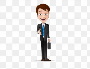 Wearing A Suit Of Cartoon People - Digital Marketing Organization Senior Management Sales PNG