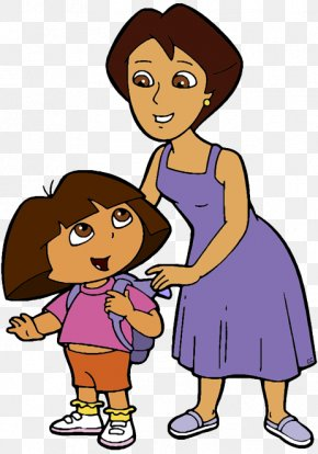 Mother's Day - Dora The Explorer Mother's Day Clip Art PNG