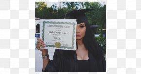 Kylie Jenner - Graduation Ceremony National Secondary School Cosmetics Graduate University High School PNG