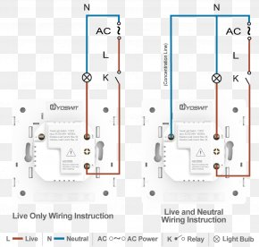 Illuminated Lights - Wiring Diagram Latching Relay Electrical Wires & Cable Electrical Switches PNG