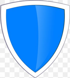 Blue Shield Clip Art - Clip Art PNG
