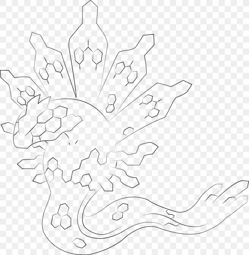 Darkrai Drawing Colouring Page Transparent & PNG Clipart Free ... | 840x820