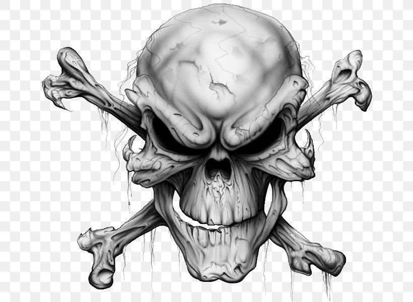 Skull And Crossbones Tattoo Human Skull Symbolism, PNG, 665x600px, Watercolor, Cartoon, Flower, Frame, Heart Download Free