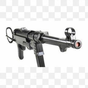 Machine Gun - Weapon Firearm MP 40 Submachine Gun PNG