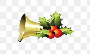 Christmas Bell - Christmas Clip Art PNG