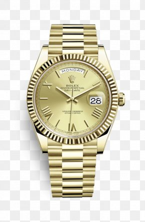 Rolex - Rolex Day-Date Watch Jewellery Gold PNG