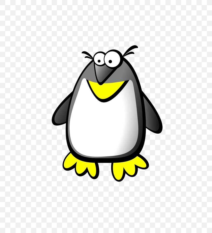 Png Transparent Stock Black And White Penguin Clipart - Black & White  Clipart Penguin Transparent PNG - 500x723 - Free Download on NicePNG